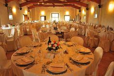 La Sala da pranzo Il Granaio...Magic Wedding in Umbria