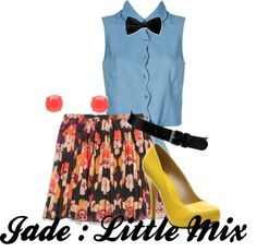 """""""Jade from Little Mix Wings"""" by ebacher on Polyvore"""