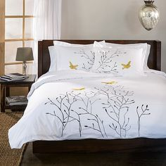 Swallow 3-piece Duvet Cover Set - Overstock Shopping - Great Deals on Simple Elegance Duvet Covers