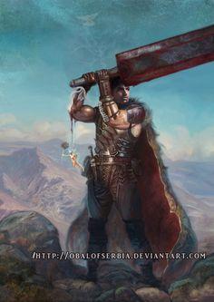 Guts the Black Swordman by ObalofSerbia.deviantart.com on @DeviantArt