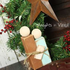Thoughts in Vinyl -- Unfinished Craft Projects and Vinyl Lettering for your home or business