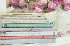 My Favorite Decorating Books - White Lace Cottage