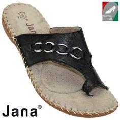 Jana női utcai bőr papucs 8-27108-20 001 fekete d22a0862ff