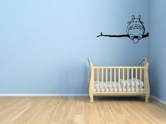 Totoro art for baby's room is too cute!