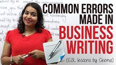 Common errors made in Business Writing ( Business Emails & Letters) - Bu...