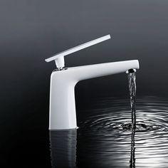 Modern DVGW Mischbatterie Waschtisch Einhand Bad Armatur Wasserhahn Wasserkran