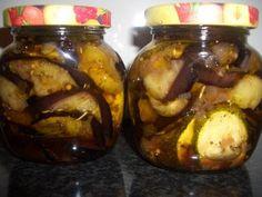 Verboten gut ⚠: Eingelegte Auberginen & Zucchini