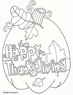 thanksgiving color pages free.html