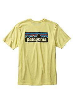 Patagonia-Mens-P-6-Logo-Cotton-T-Shirt-XL-Blazing-Yellow-Lite-0