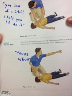 How to perform CPR on a bad day.