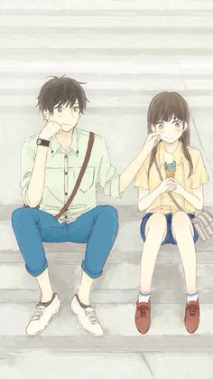 Cute couple.