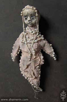 Mummy Art Doll Sculpture 17