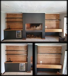 Oak and dark grey indoor braai. Houtwerke is situated in the Boland, Cape Winelands area. We specialize in kitchen cupboards, bedroom cupboards, solid woodworking, custom furniture and much more. For quotations please email us at khoutwerke@icon.co.za or visit our page. Bedroom Cupboards, Kitchen Cupboards, Built In Braai, Wine Cellars, Bar Counter, Custom Furniture, Dark Grey, Quotations, Cape