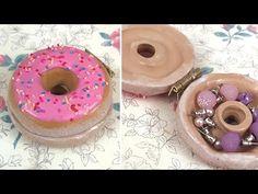 [Polymer Clay] Donut Trinket Box Tutorial - YouTube