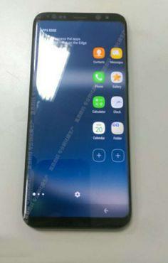 Primele imagini live cu Galaxy S8 au aparut! Asa va arata in premiera noul telefon de top Samsung