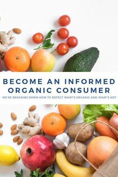 """As it turns out, 30% of the ingredients in that """"organic"""" product may not be organic at all. We're sharing how to become an informed consumer and get the best bank for your buck, support your health, and mother earth by understanding what organic really means. Organic Meat, Organic Recipes, Organic Supplements, Sustainable Farming, Superfoods, A Food, Holistic Nutrition, Grocery Store, Mother Earth"""