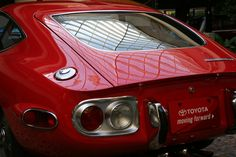 Rear Panel | 1969 Toyota GT2000 | webbmb | Flickr Toyota 2000gt, James Bond Movies, Old Cars, Concept Cars, Cars And Motorcycles, Yamaha, Convertible, Automobile, Vehicles