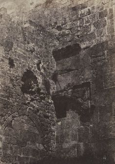 Auguste Salzmann, Jerusalem. Anciente du Temple. Porte Herodienne, 1854-1856; Auguste, Temple, City Photo, Travel Photography, Explore, Artwork, Puertas, Art Work, Work Of Art