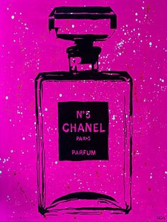 Chanel P!NK Urban Chic by PopArtQueen 18x12 Gallery Wrap Art Print Poster Wall Decor Chanel Poster Perfume Perfum Classy Pop Art PopArtQueen http://www.amazon.com/dp/B00TQ0NJPS/ref=cm_sw_r_pi_dp_Wlyjvb0EPXTAG