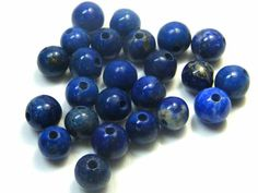PARCEL 10 mm LAPIS LAZULI BEADS 123 CARATS  AG 1647  LAPIS LAZULI BEAD GEMSTONE, FROM AFGHANISTAN, HAND POLISHED GEMSTONE FROM  GEMROCKAUCTIONS