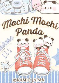 Sanrio Characters, Fictional Characters, Cute Panda Wallpaper, Panda Wallpapers, Kawaii Cute, Mochi, Smurfs, Cartoons, Friends