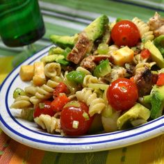 Hearty, Make-Ahead Pasta Salads For Lunch - Chicken Club Pasta Salad
