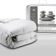 Canadian Down And Feather Gel Microfiber Alternative Comforter