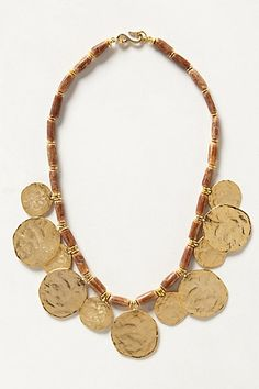 Coinswood Necklace #anthropologie