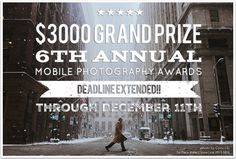 The Mobile Photography Awards Deadline Extended
