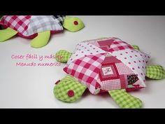 """El blog de """"Coser fácil y más by Menudo numerito"""": Cómo hacer una tortuga de trapo (con patrones gratis)"""