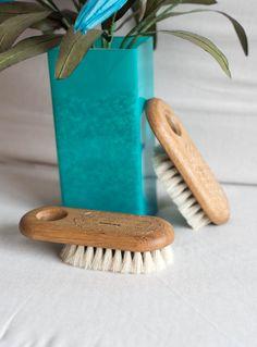 cepillo de madera baño accesorios baño decoración