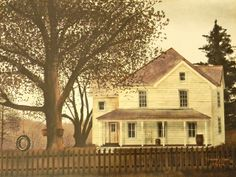 "billy jacobs art | Billy Jacobs- ""Grandma's House"" 