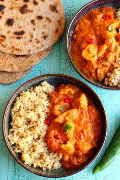 ragukat, úgyhogy nem gondolkoztam sokáig Okra, Curry, Ethnic Recipes, Pink, Blog, Cilantro, Curries, Gumbo, Roses