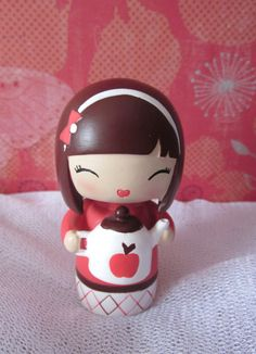 SOLD kawaii Momiji doll. Write your own message to put inside.