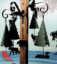 North Country Wind Bells -- Wilderness Bells(R) Maine Bouy Bells Wind Chimes Garden Bells & Guards
