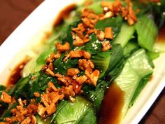 中国発★青梗菜のオイスターソースがけの画像