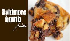 Baltimore Bomb Pie Recipe - Something Swanky