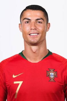 Cristiano Ronaldo of Portugal poses for a portrait during the official FIFA World Cup 2018 portrait session on June 10 2018 in Moscow Russia Cristiano Ronaldo 7, Messi And Neymar, Ronaldo Juventus, World Cup Draw, Fifa World Cup 2018, Portugal National Team, Ronaldo Real Madrid, Fifa Football, Russia 2018