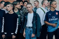Every swervy gent who caught our eye outside the epic menswear trade show. Mode Masculine, Men Street, Street Wear, Skinhead, Youth Culture, Cool Street Fashion, Cute Gay, Menswear, Style Inspiration