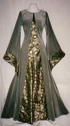 12th century velvet and brocade, with sleeve lining