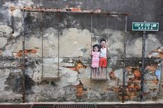 PENANG, Maylasia ART PROJECT-The Most Beloved Street Art Photos of 2013   FreeYork