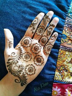#henna #tattoo by Alia Khan, always innovative