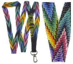 Rainbow Lanyard : Beading Patterns and kits by Dragon!, The art of beading.