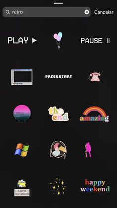 gifts aesthetic Geschichten: Gifs Retro Ins - Instagram Blog, Retro Instagram, Ideas De Instagram Story, Creative Instagram Stories, Instagram And Snapchat, Instagram Quotes, Friends Instagram, Instagram Artist, Instagram Story Template