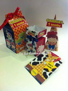 Kit festa woody #milkbox #caixinha # convitecamisa #woody