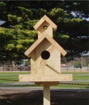 20 Best Birdhouses Large Wooden For Poles Images Bird