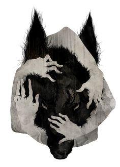 IRIS: Höhere Wesen - von Menschenhänden umfasst --> hat etwas seh berohliches