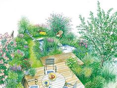 garden plans on pinterest garten outdoor lounge and. Black Bedroom Furniture Sets. Home Design Ideas