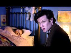 """This is one of my very favorite scenes. Of anything. Ever.  Episode: """"The Big Bang."""" Doctor Who - The girl who waited - little Amelia. """"You won't remember me, I'll be a story in your head. But that's okay, we're all stories in the end."""""""