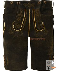 Weitenfels Urform Lederhose Kurz Braun Art. #MnS-60-0092904 Length: Short Material: Deer skin Buttons: Deer horn DESCRIPTION Weitenfels Urform Lederhose Kurz for men by Moon Sports in maple. Filigree tone-on-tone embroidery together with the relief embroidery creates a subtle contrast to the color of the natural deer-skin. Classic pockets on the front and staghorn buttons on the leg ends and on the bib make the overall picture perfect for this Weitenfels Urform Lederhose Kurz. Lederhosen, Deer Skin, Filigree, Overalls, Contrast, Moon, Buttons, Pockets, Embroidery